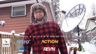 Eutelsat 113 West - Retro TV,  The Family Channel, Action, REV'n, Heartland, FGO CBAND SATELLITE
