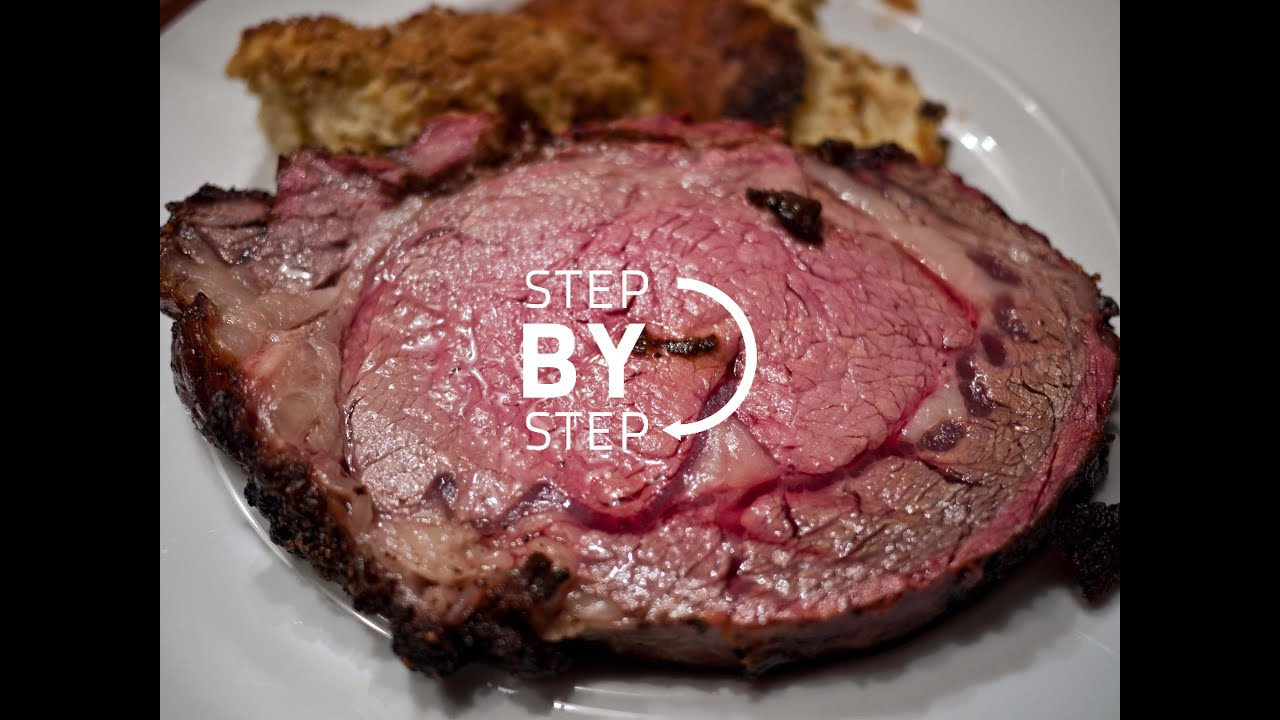 How To Cook The Perfect Standing Prime Rib Roast Beef Recipe Youtube