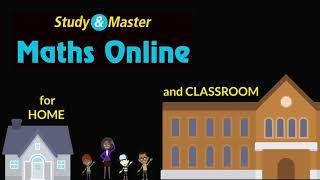 Study & Master Maths Online Grade 4 to 6 Activity Books