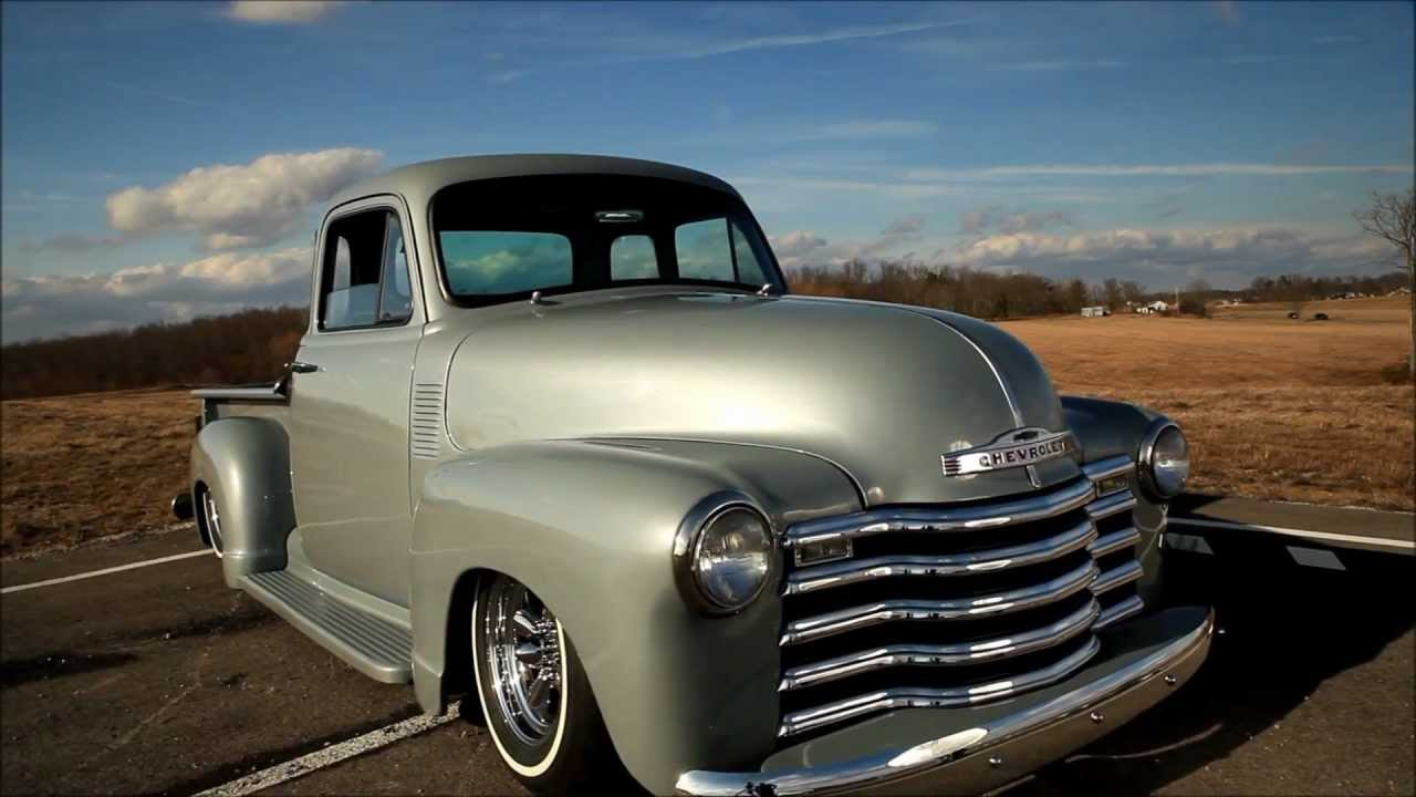 Check Out This Aggressive Looking 1951 Chevrolet Pick Up Truck