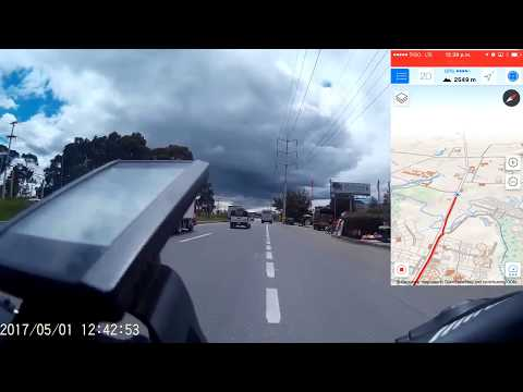 Prueba desempeño Bicicleta M&U en subida y autonomía en Bogota.