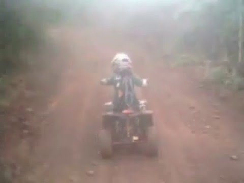 Quad ride at Mfuli Game Reserve