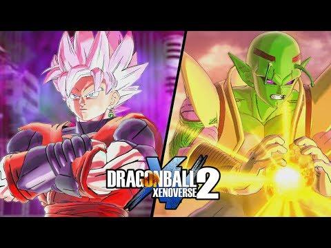 XENO BLACK GOKU E BABY PICCOLO - [Mod Dragon Ball Xenoverse 2]