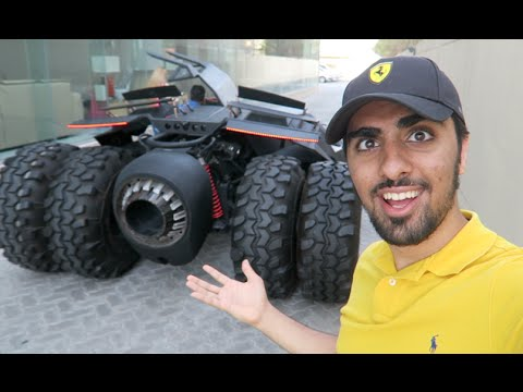 Batmobile CAUGHT in Dubai !!!