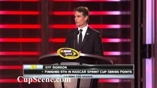 NASCAR Sprint Cup Champions week 2014: Champions Banquet Highlights