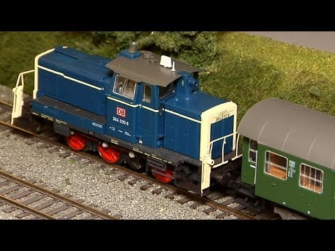 Beautiful Model Train Layout in HO scale on 90 square meters
