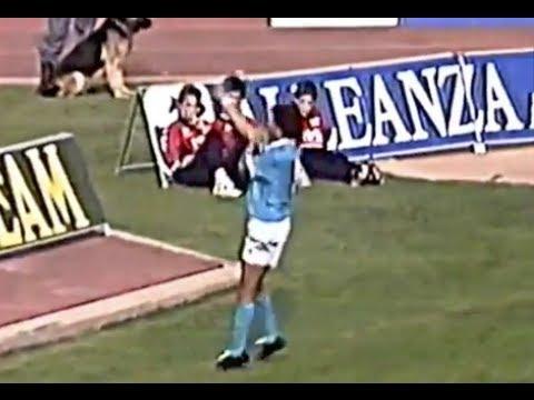Cagliari-Napoli 1993, il gestaccio di Fonseca