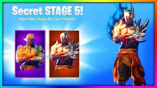 FINAL MAX STAGE 5 The PRISONER SKIN! (Fortnite KEY UNLOCK Speculation)