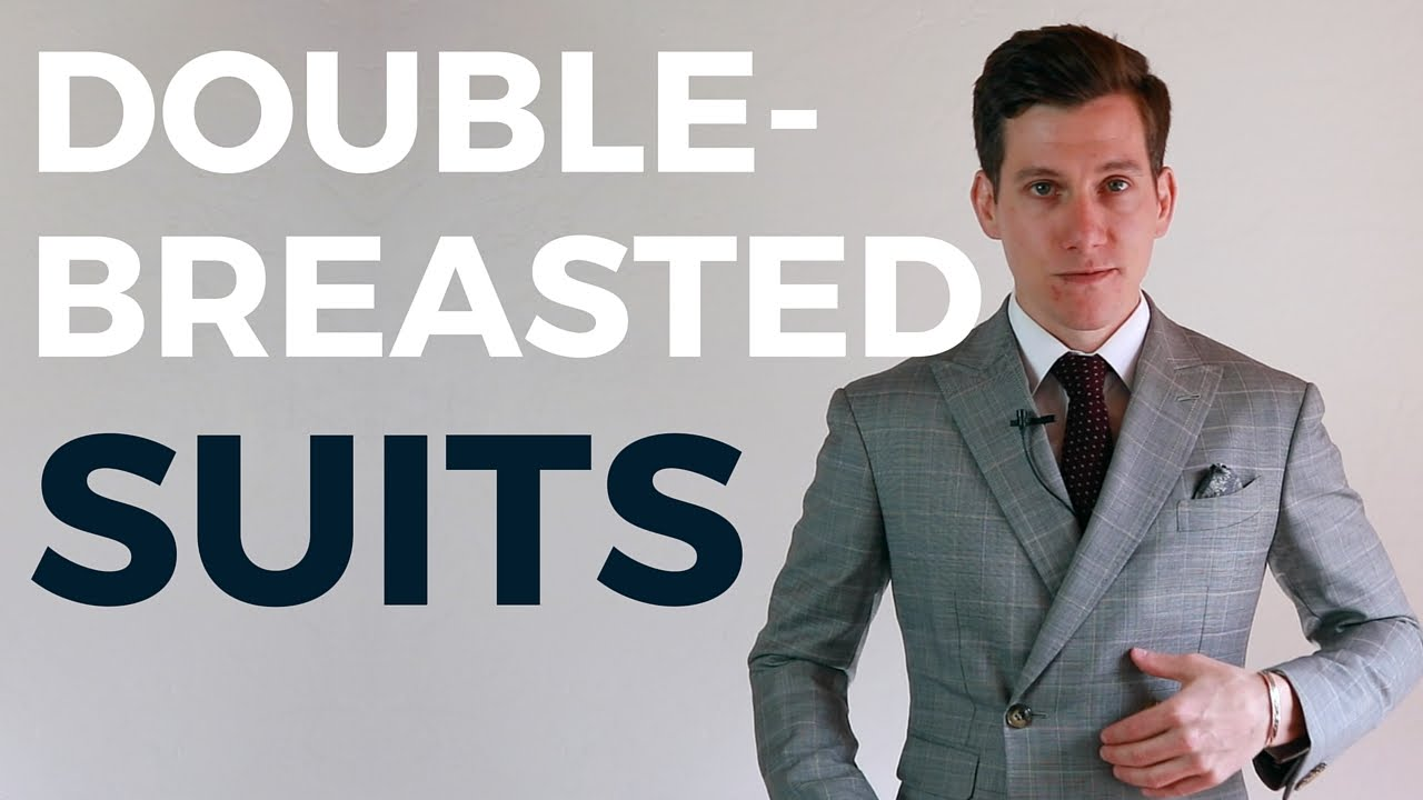 Can Short Men Wear Double Breasted Suits? - YouTube