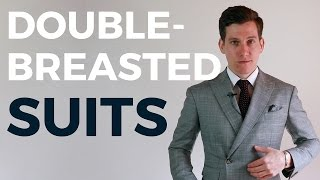 Can Short Men Wear Double Breasted Suits?