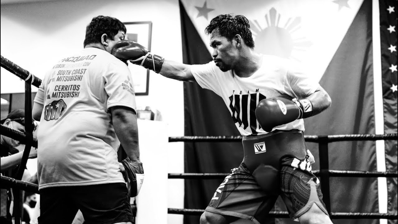 A Glimpse Into MANNY PACQUIAO's Training Camp!