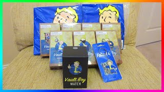 Ultimate Fallout 4 Care Package Unboxing Featuring Bobbleheads & MORE Awesome Gear!