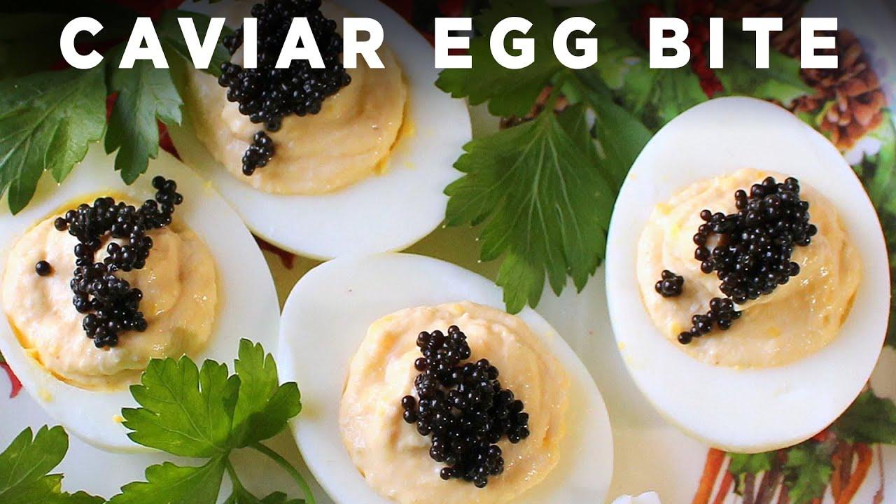 Caviar Egg Bite