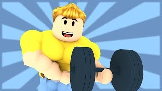 HOW TO GET MUSCLE IN ROBLOX!