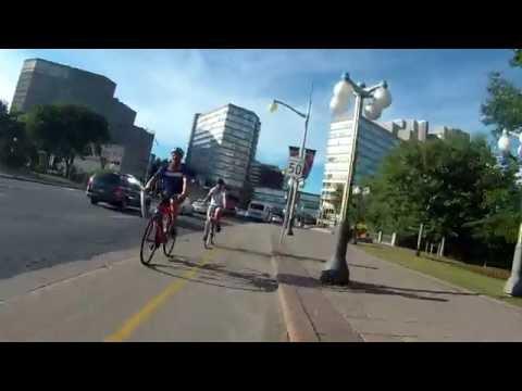 Ottawa-Gatineau Bike Paths - along Ottawa River Part 1