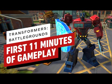 The First 11 Minutes of Transformers: Battlegrounds Gameplay