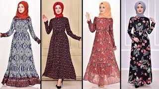 2020 Günlük Tesettür Elbise Modelleri
