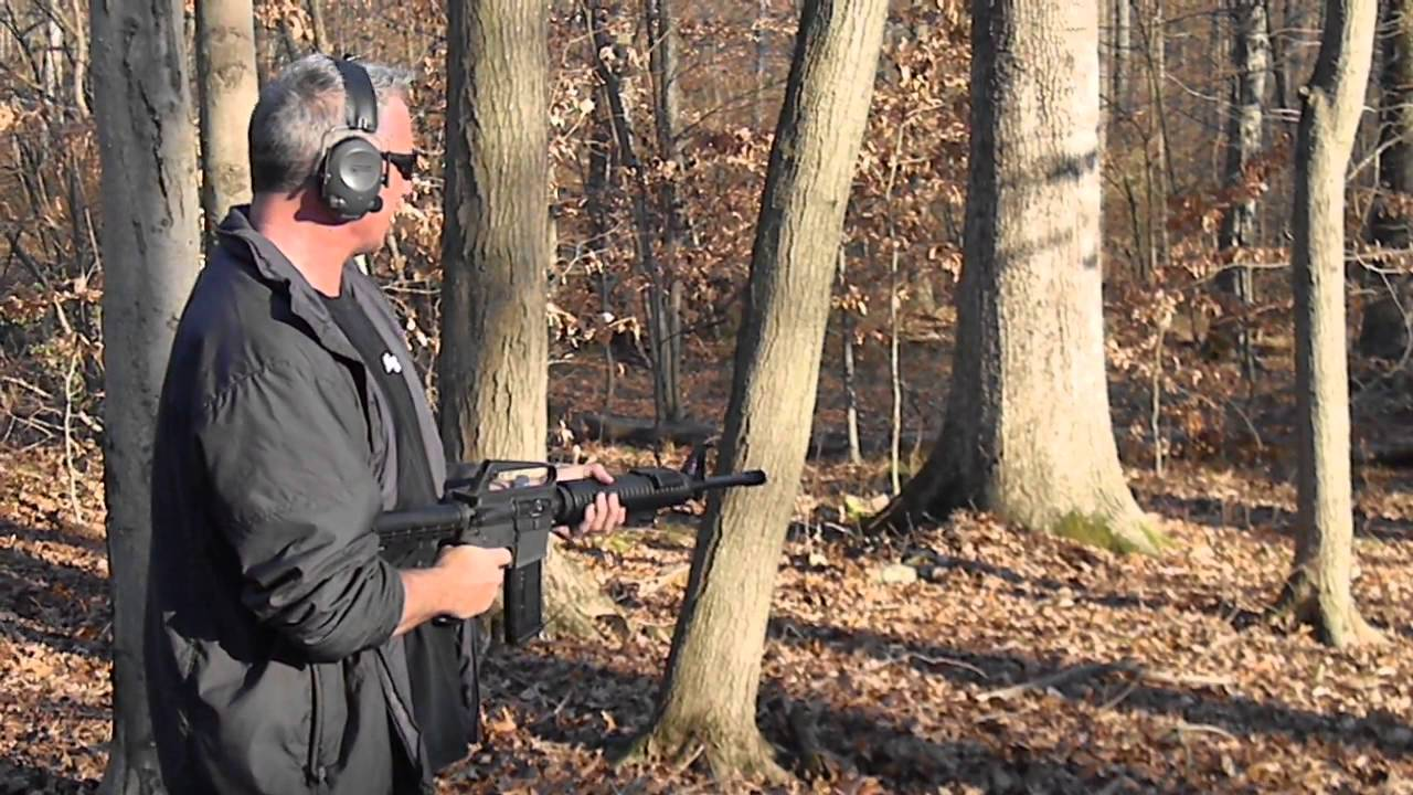 Colt Ar 15 A2 With Drop In Full Auto Sear
