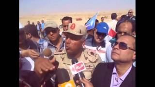 اللواء كامل الوزير : ناتج حفر قناة السويس الجديدة