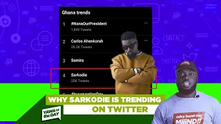 Why Sarkodie is Trending On Twitter