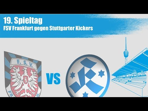 19. Spieltag, FSV Frankfurt vs. Stuttgarter Kickers -Spielbericht + Interviews