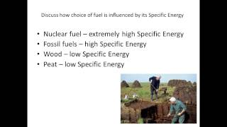 8 energy density and specific energy