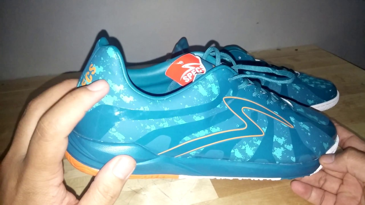 Review Sepatu Futsal Specs Barricada Ultima Future Green Youtube