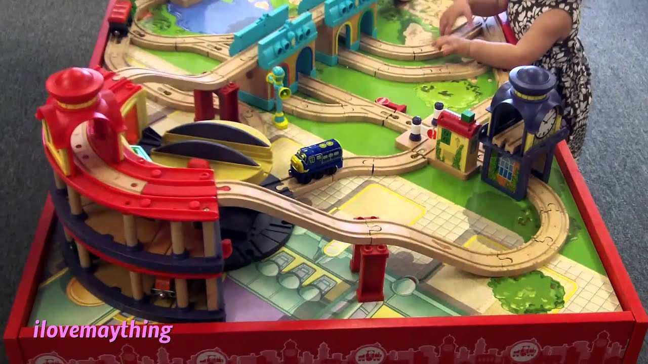 Thomas Tank Engine Wooden Train Set Play Table Wooden Thing