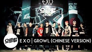 EXO - Growl (Chinese Version) [Audio]