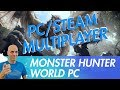 MONSTER HUNTER WORLD PC Multiplayer Steam - How to play Multiplayer