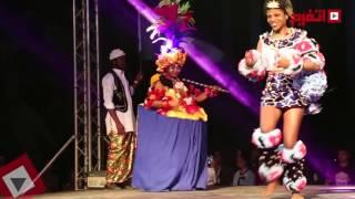 بالفيديو.. افتتاح مهرجان الفلكلور الأفروصيني بقصر محمد علي