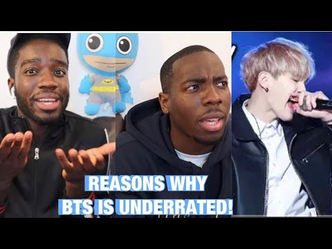 BTS IS OVERRATED REACTION