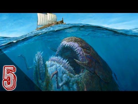 5 Misteriose Creature Marine Avvistate Realmente