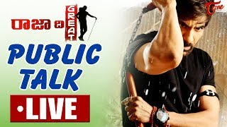 RAJA THE GREAT Public Talk LIVE from Prasads IMAX | Hit or Flop ? | Ravi Teja, Mehreen Pirzada