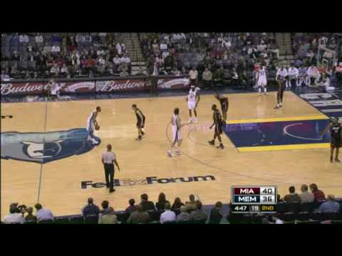 Joel Anthony first double-double with almost 3 carrer high vs MEM 14-12-08