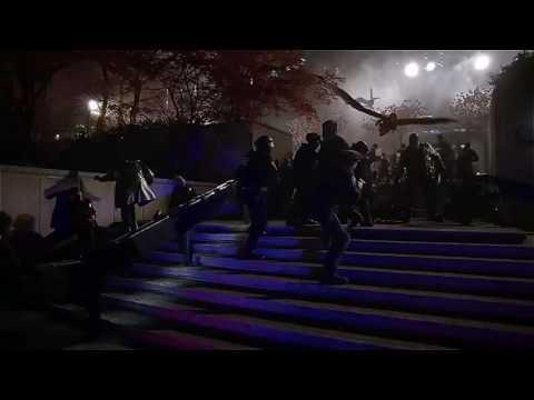 The flash 2x22 opening scene meta human...