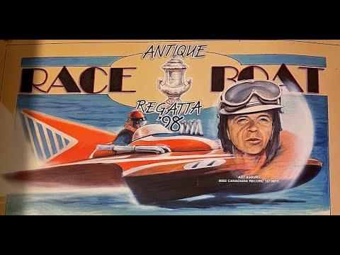 Antique Race Boat Regatta 1998