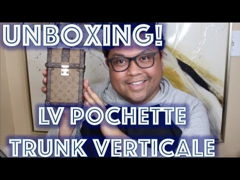 Louis Vuitton Unboxing | POCHETTE TRUNK VERTICALE | Giveaway Winner Announced | DocLUXURY