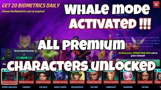 Birth of a Whale Lord (?) All Premium Characters Unlocked!! - Marvel Future Fight