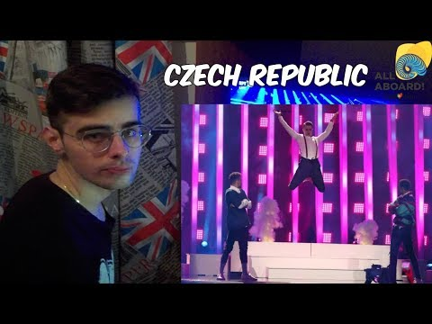 MIKOLAS JOSEF - LIE TO ME | CZECH REPUBLIC EUROVISION 2018 SEMI FINAL 1 LIVE REACTION