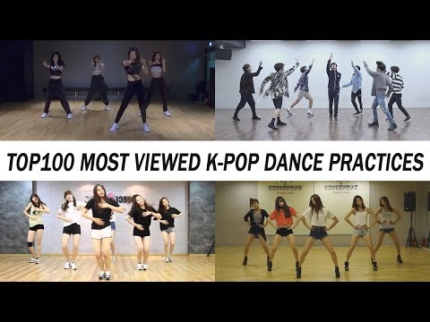 [TOP 100] MOST VIEWED K-POP DANCE PRACTICES • June 2018