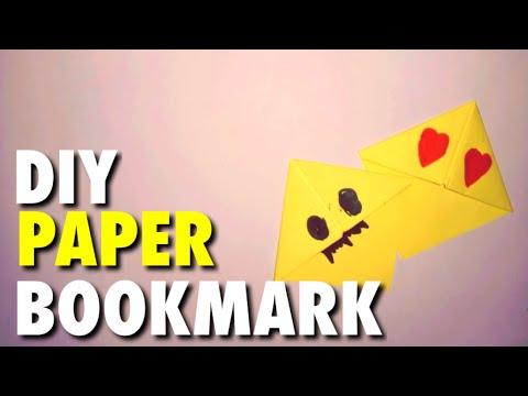 DIY PAPER BOOKMARK