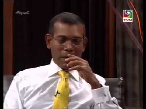 #RiyaaC with MDP Presidential Candidate Mohamed Nasheed