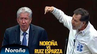 Noroña hace Pedazos a Ruiz Esparza y el Aeropuerto en Texcoco