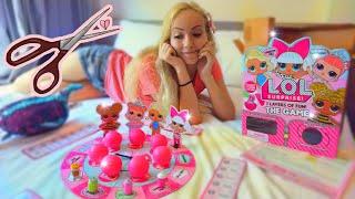 Опять СТРИЖКА и ЛОЛ игра! ПОДАРКИ на Новый Год для Мии. Распаковка куклы LOL game.mp3