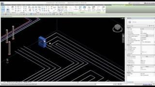 MagiCAD for REVİT Detailed sprinkler presentation