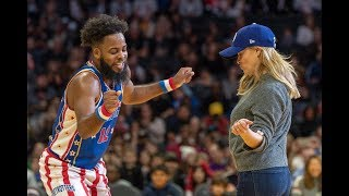 Reese Witherspoon Dances with Harlem Globetrotters