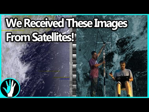 How to Pull Images from Satellites in Orbit (NOAA 15,18,19 a
