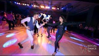 Antonio Berardi & Selene Tovar - Salsa social dancing | Istanbul Int. Dance Festival 2018