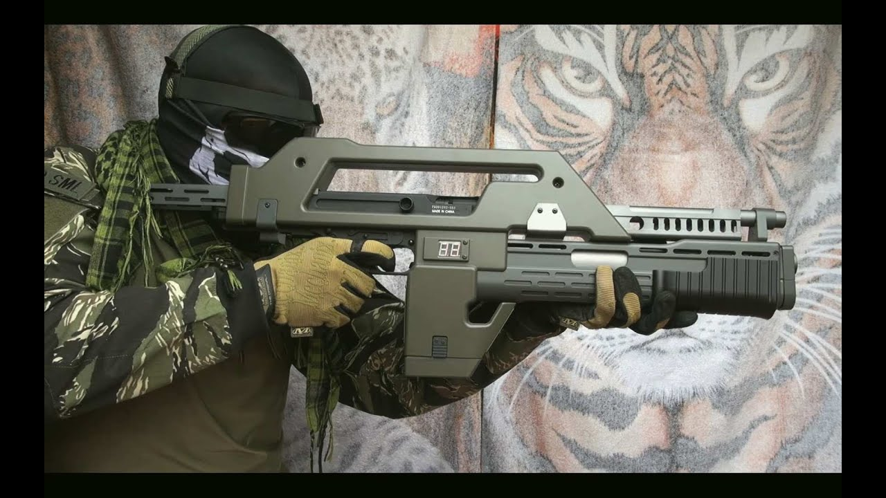 Extraordinaire Airsoft) Pulse Rifle M41A1 Snow Wolf - YouTube EE84